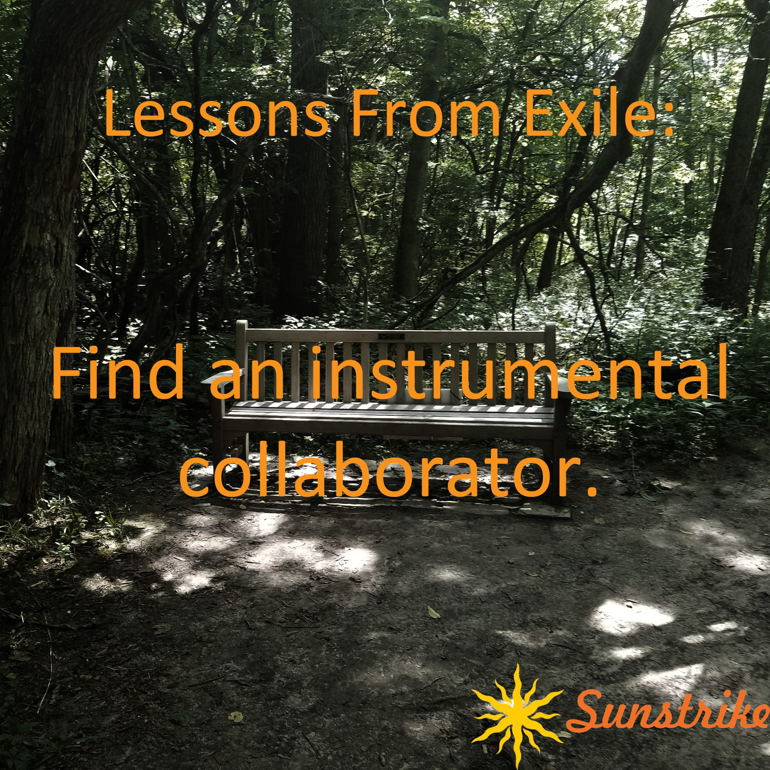 Lessons from Exile #5: Vocalists Collaborate with Instrumentalists