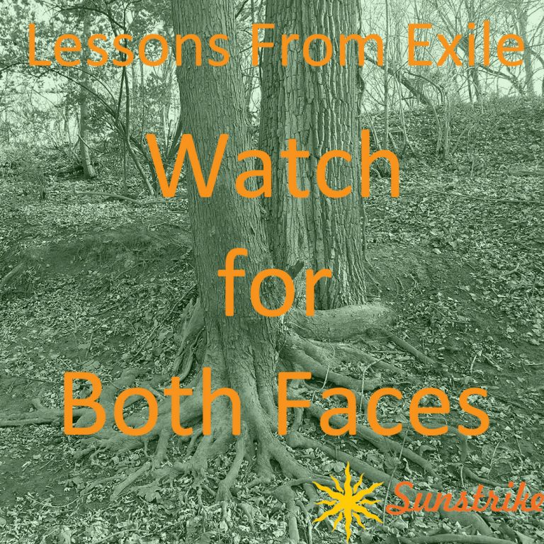 Lessons from Exile #73: Watch for Both Faces